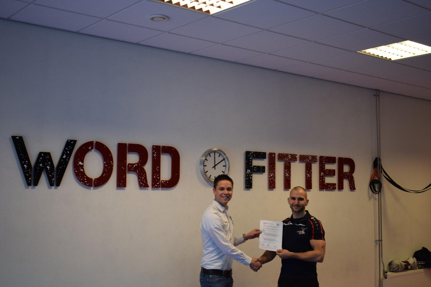 Word Fitter vanaf volgend seizoen sponsor van VR1!