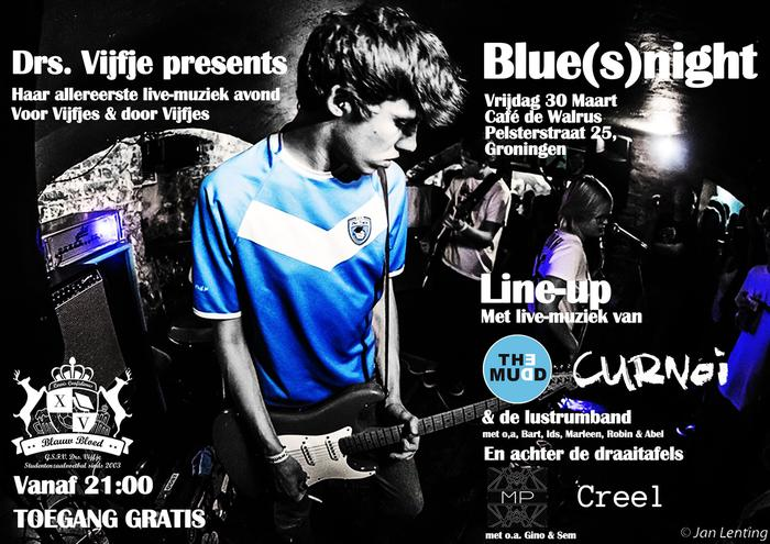 Line-up Blue(s)night bekend!
