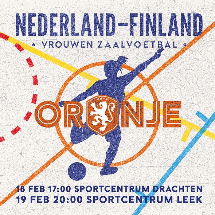 Arte in Oranje: Nederland-Finland