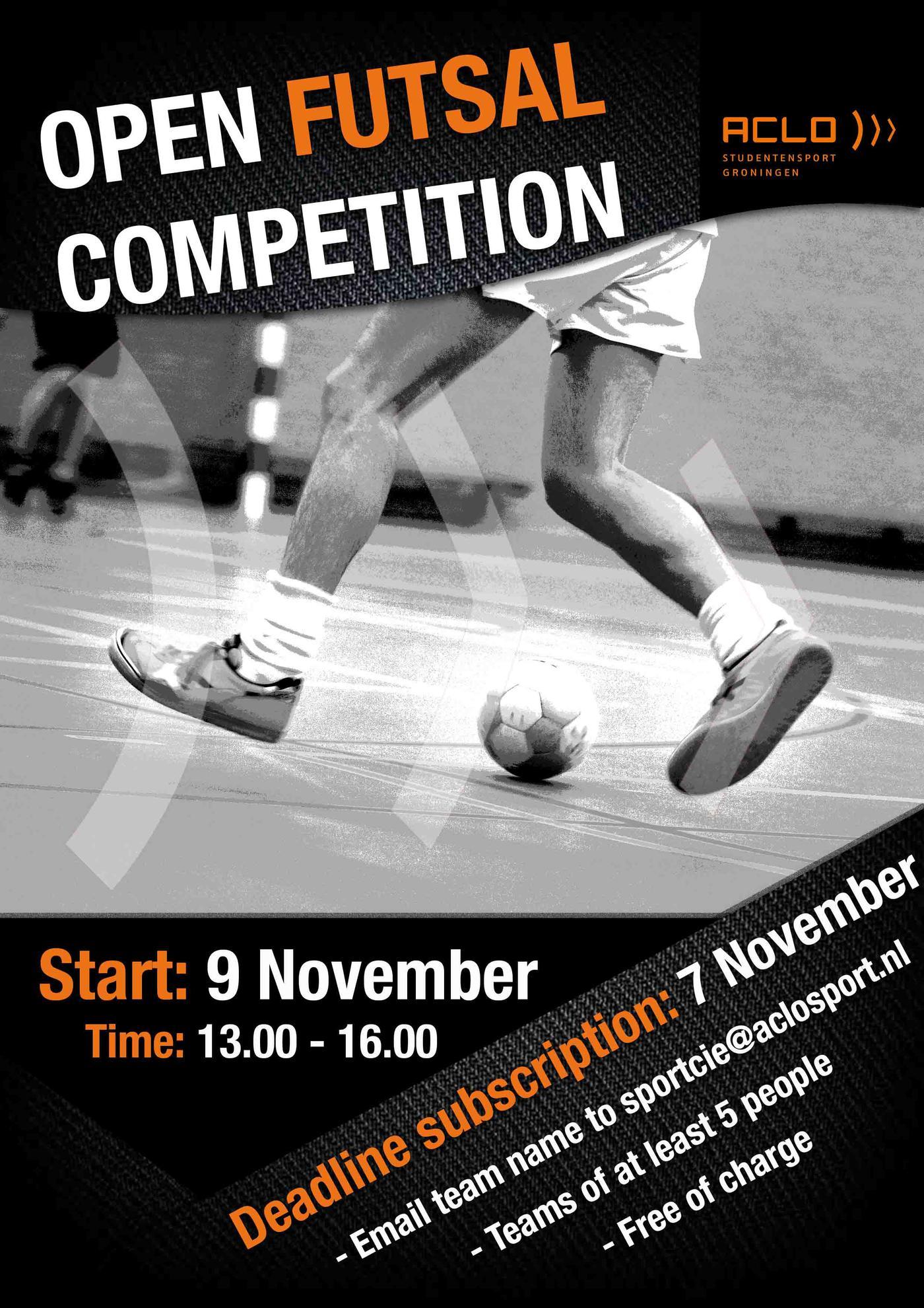 Open futsal competitie ACLO