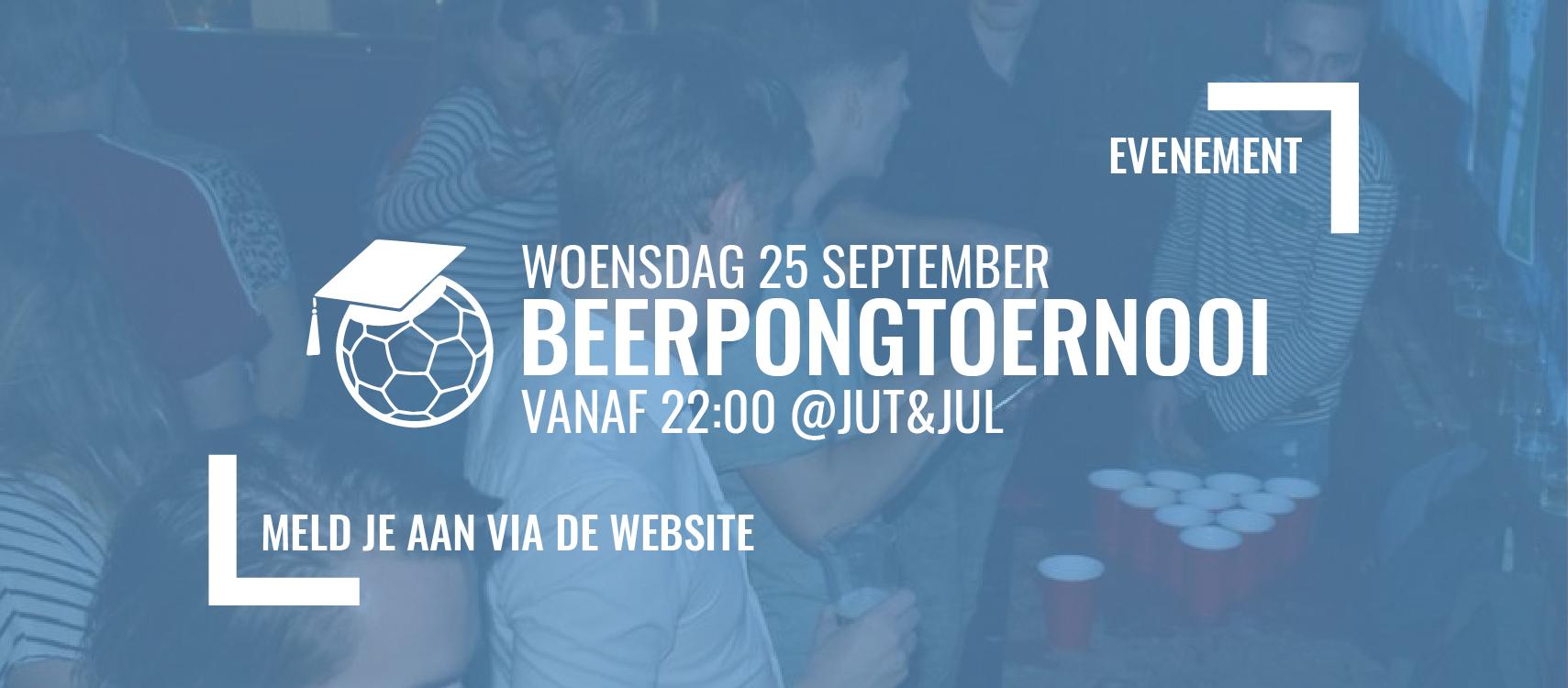 Beerpongtoernooi 2019
