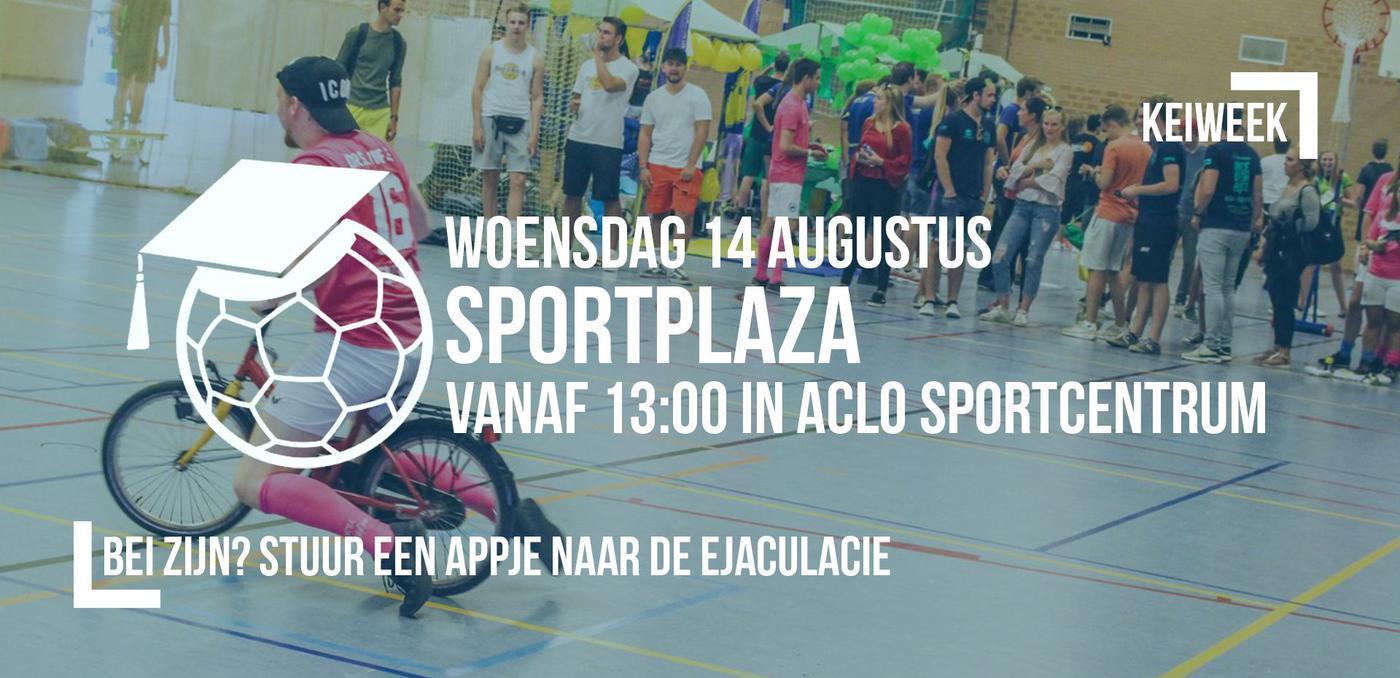 Keiweek: Sportplaza