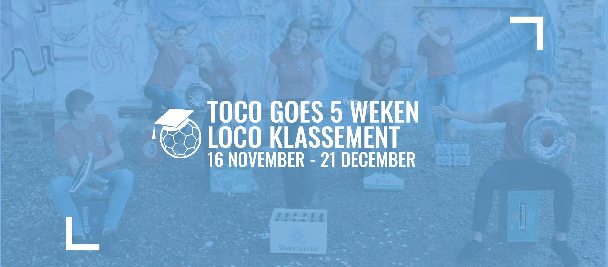 ToCo Goes Loco Klassement