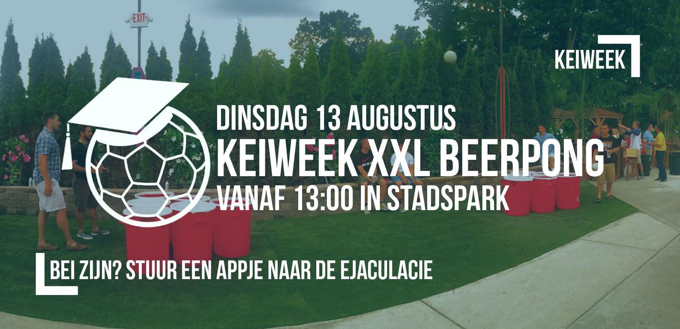 Keiweek: Beerpong XXL
