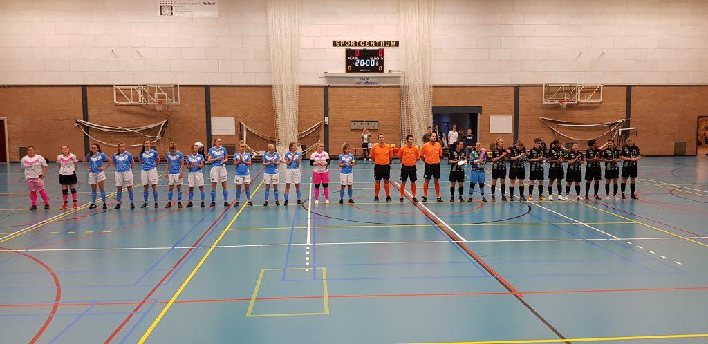 Drs. Vijfje verliest eerste duel om landskampioenschap