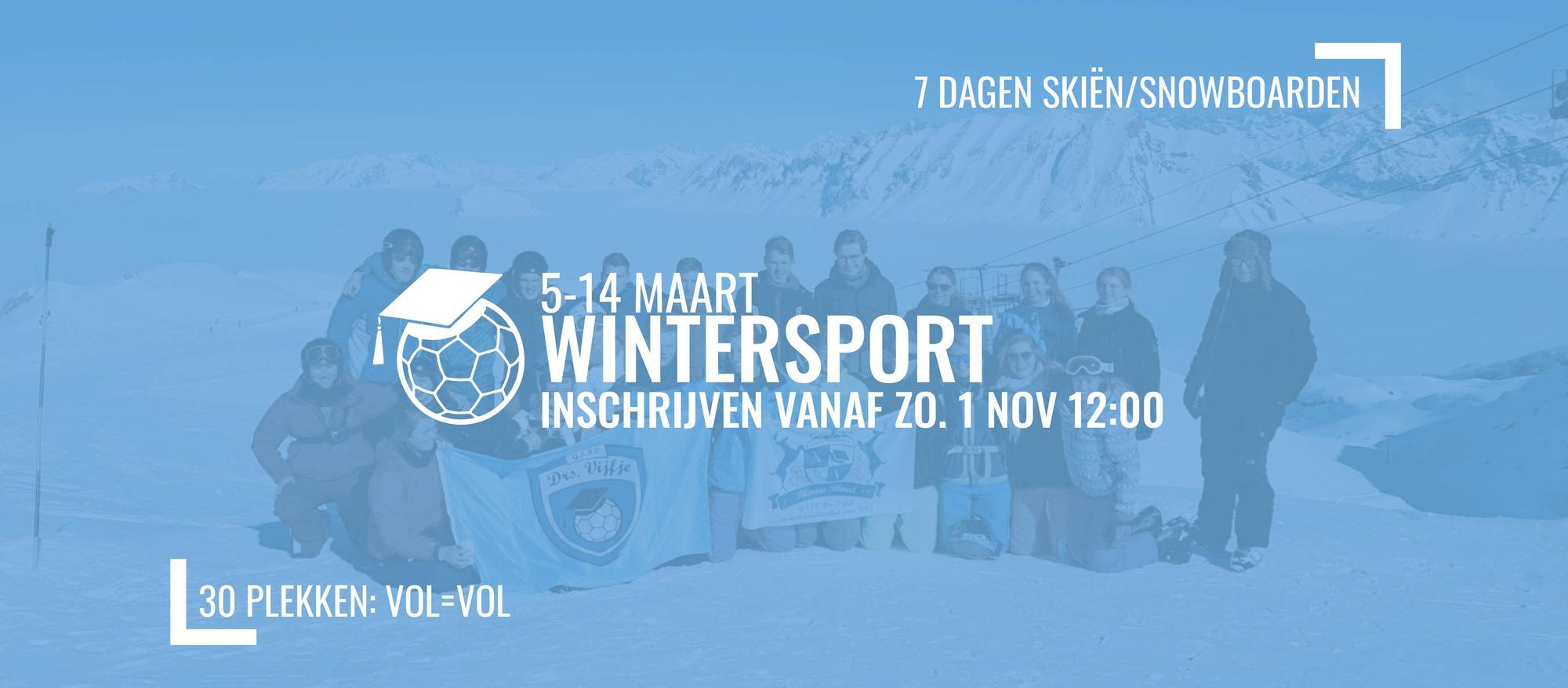 GEANNULEERD Wintersport 2020-2021